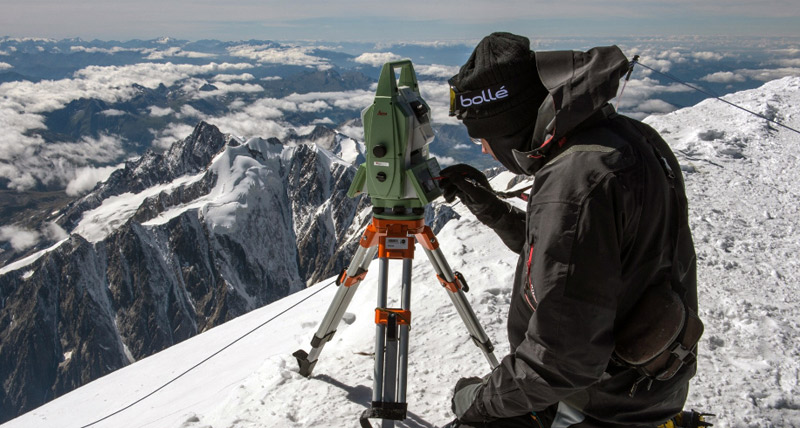Scanning the top of Europe
