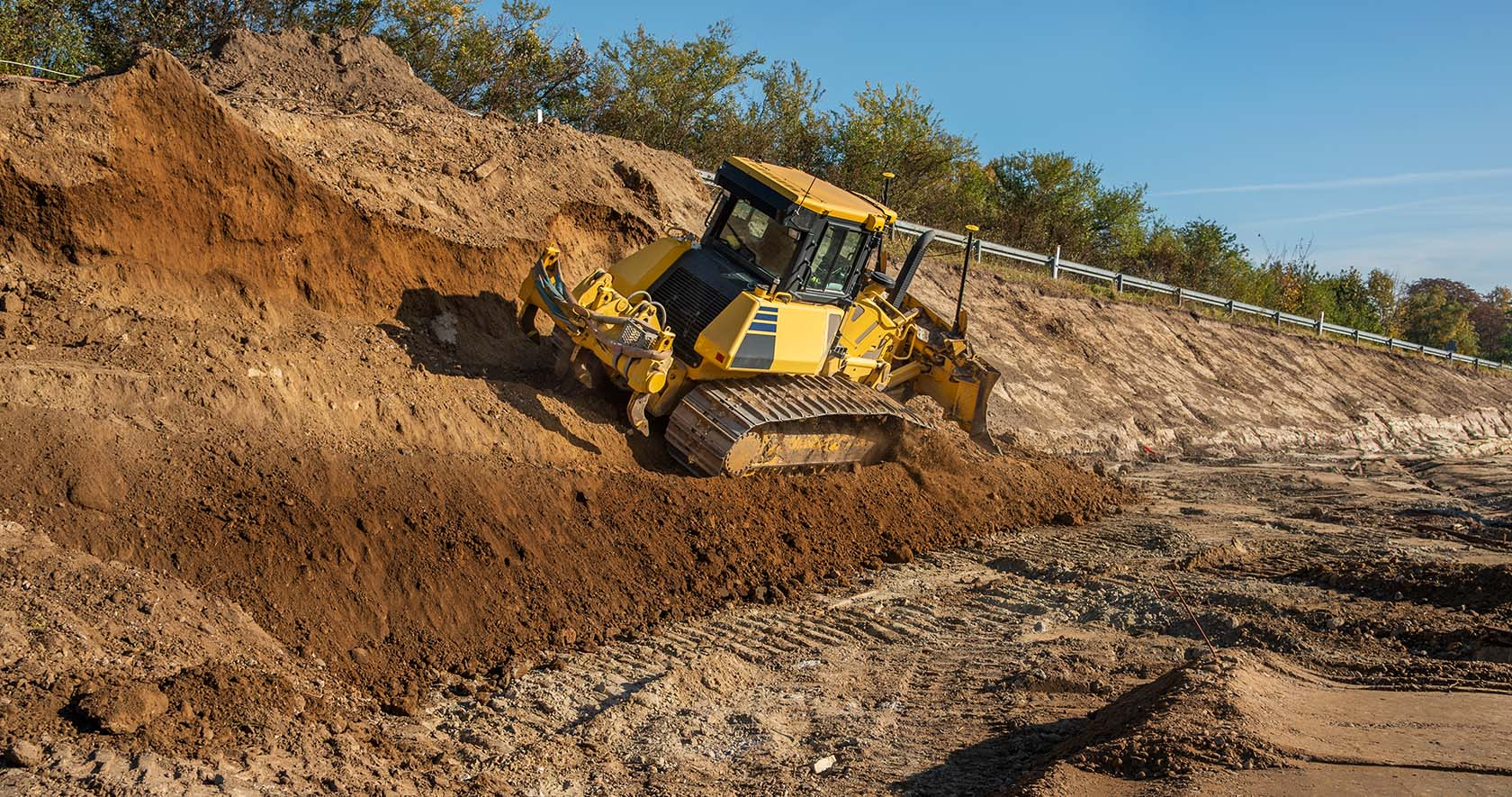 Dams Earthworks Trenching