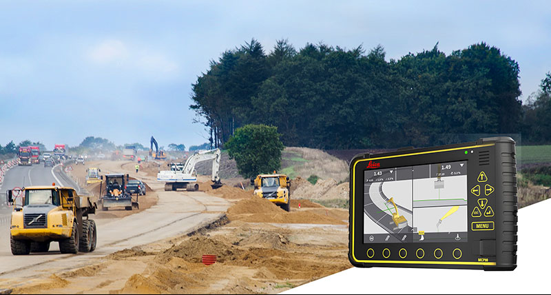 Leica Geosystems Machine control systems for excavators - Leica iXE3