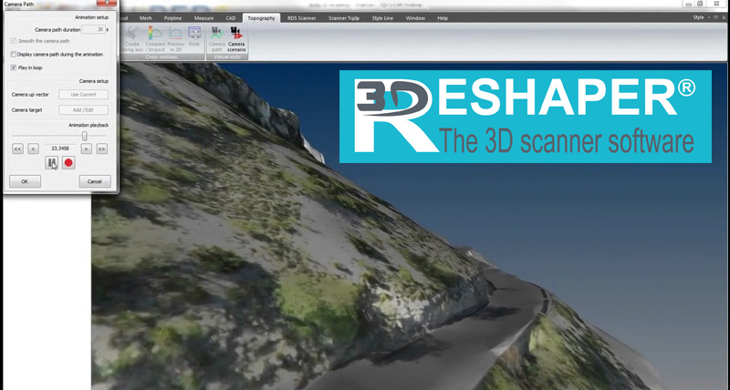 3D Reshaper for Leica Geosystems 3D Laser scanners