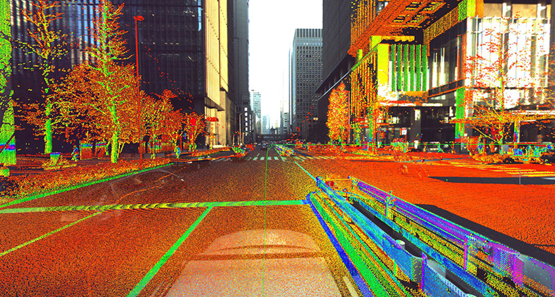 peek into mobile mapping