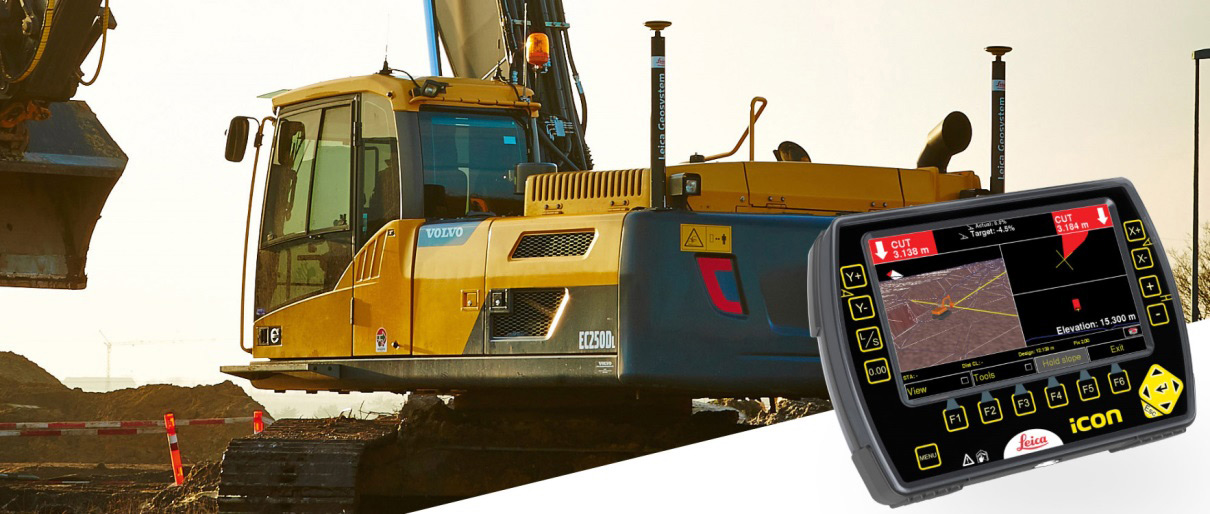 Leica iCON Excavate Systems