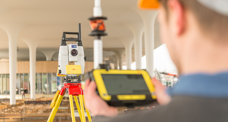 iCR70 iCR80 robot layout total station