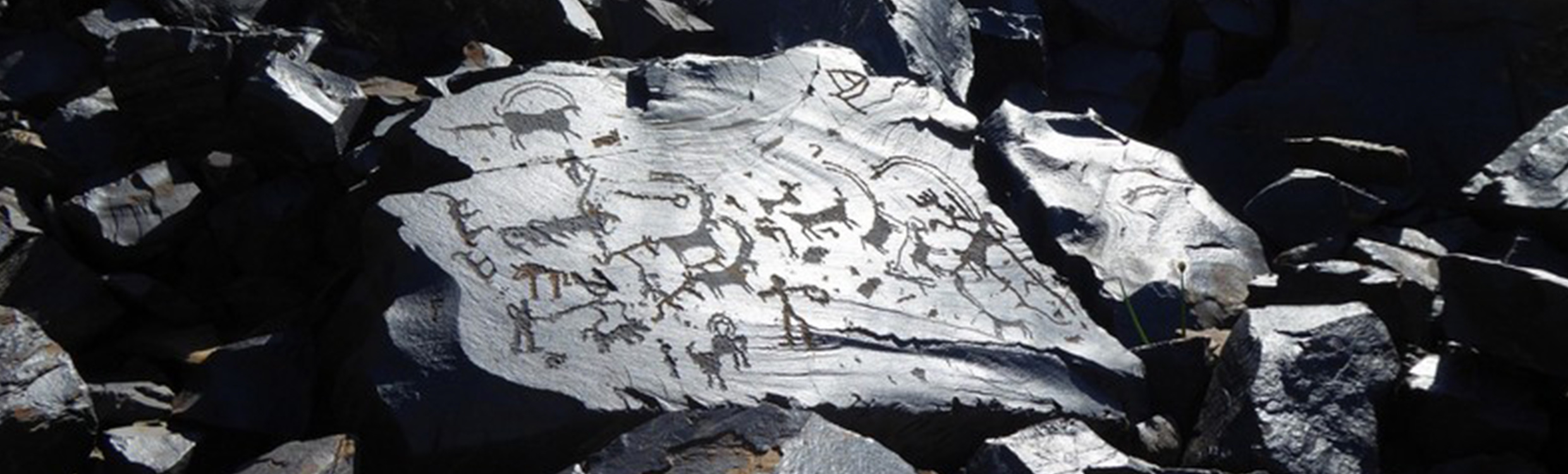 Finding ancient petroglyphs in the mountains of Kyrgyzstan