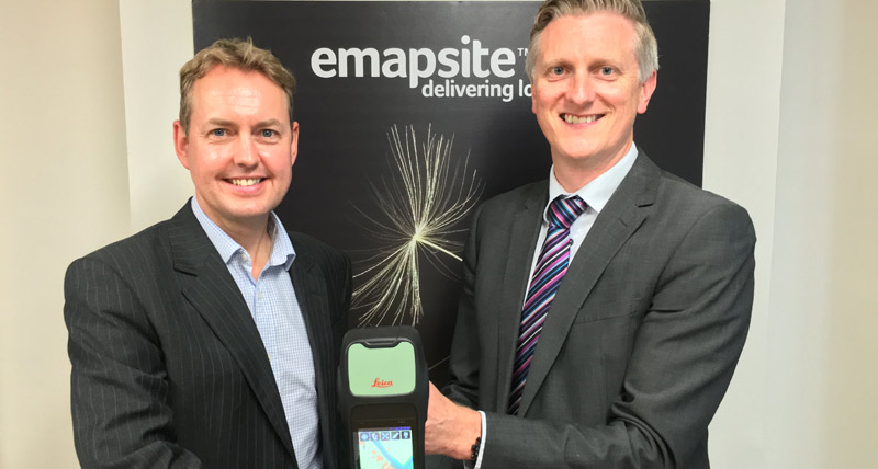 Leica Geosystems and emapsite partnership