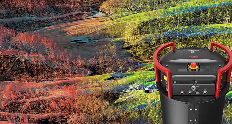 Leica TerrainMapper meets the challenges of large area mapping