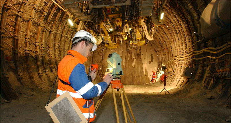 Opening the worlds longest deepest rail tunnel with precise measurement