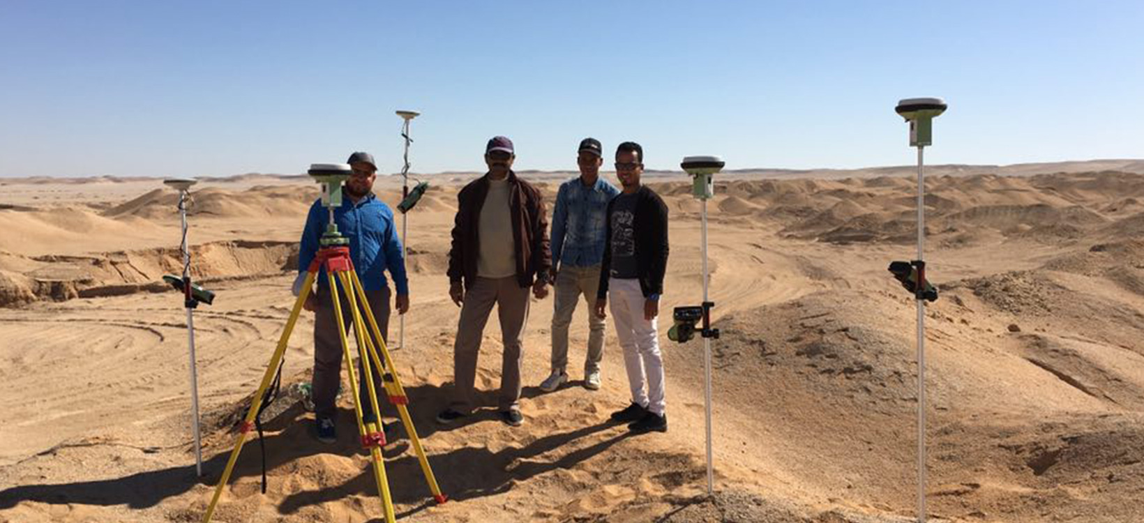 GNSS in the desert