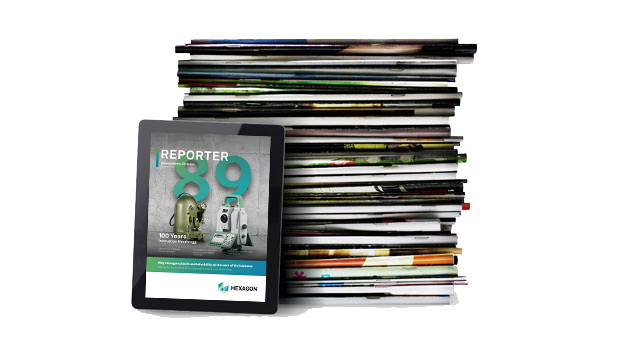 Subscribe to our Reporter - Customer Magazine