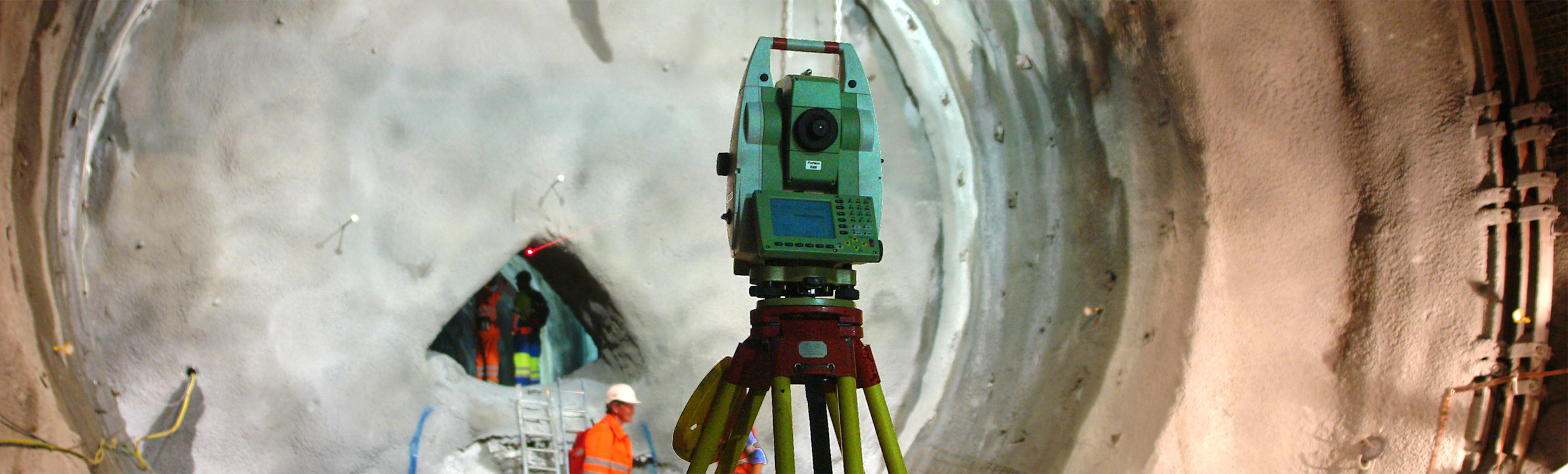 Gotthard Tunnel - Leica Geosystems Heavy Construction Solutions