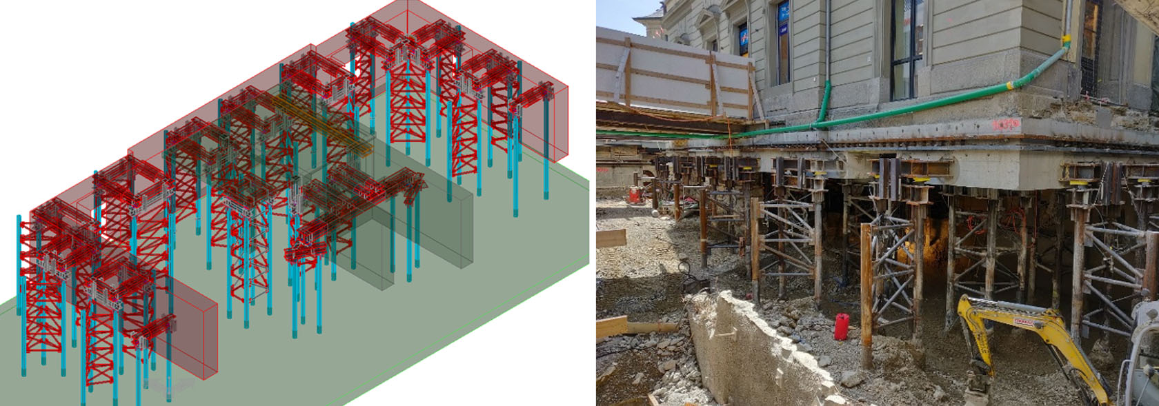 Digging deeper with monitoring - Terradata & Leica Geosystems AG Case Study - BIM Model