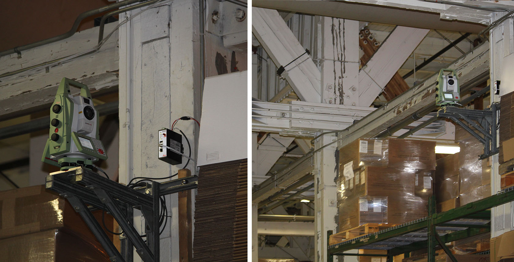 Monitoring the Structural Health of 80-year-old Royal Canadian Air Force Warren Truss Hangars with Leica Geosystems equipment - 3