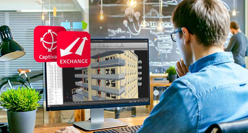 Transfer data to the office from the field with Leica Exchange