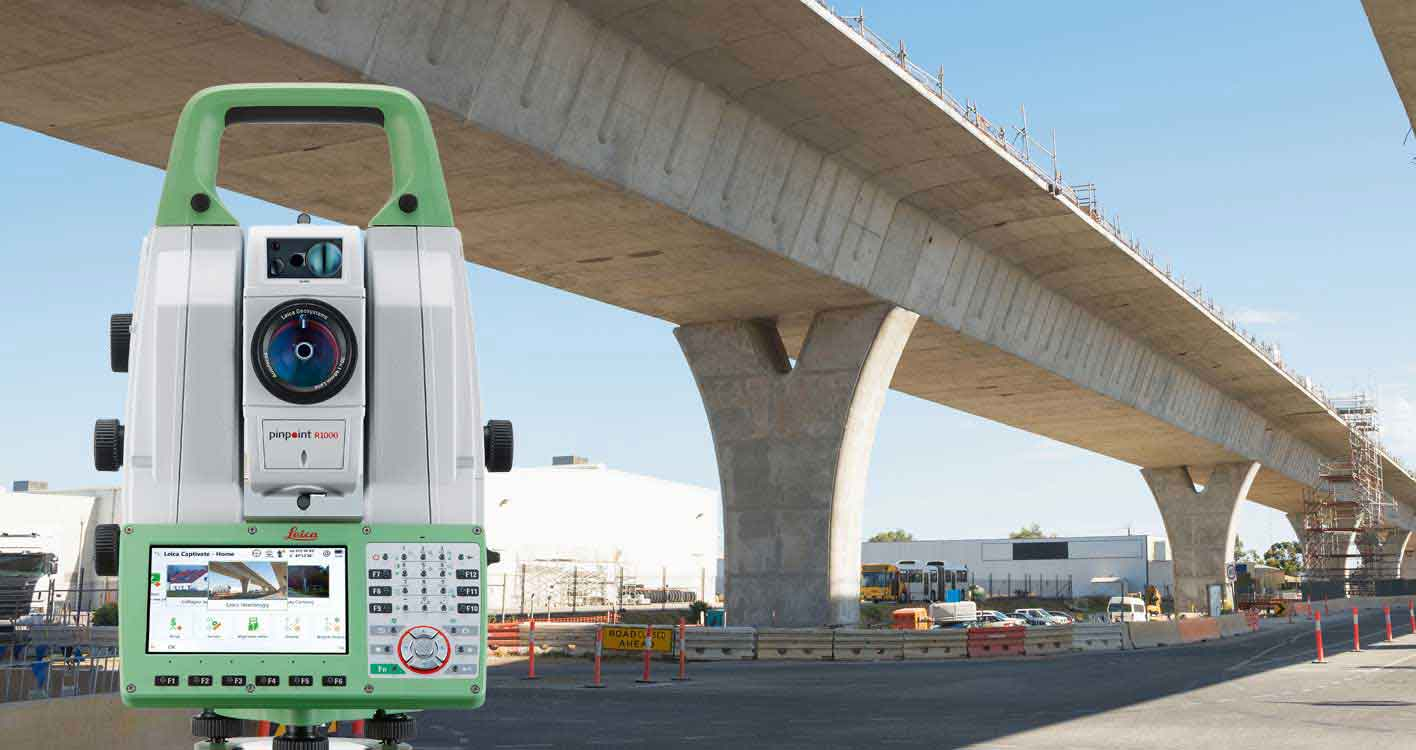 Leica Geosystems Heavy Construction Solutions - Bridges - Measure Control