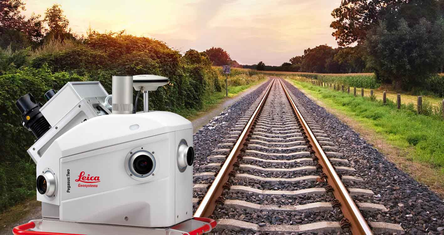 Leica Geosystems Heavy Construction Solutions - Rail - Maintenance - Maintain Assets - Leica Pegasus:Two