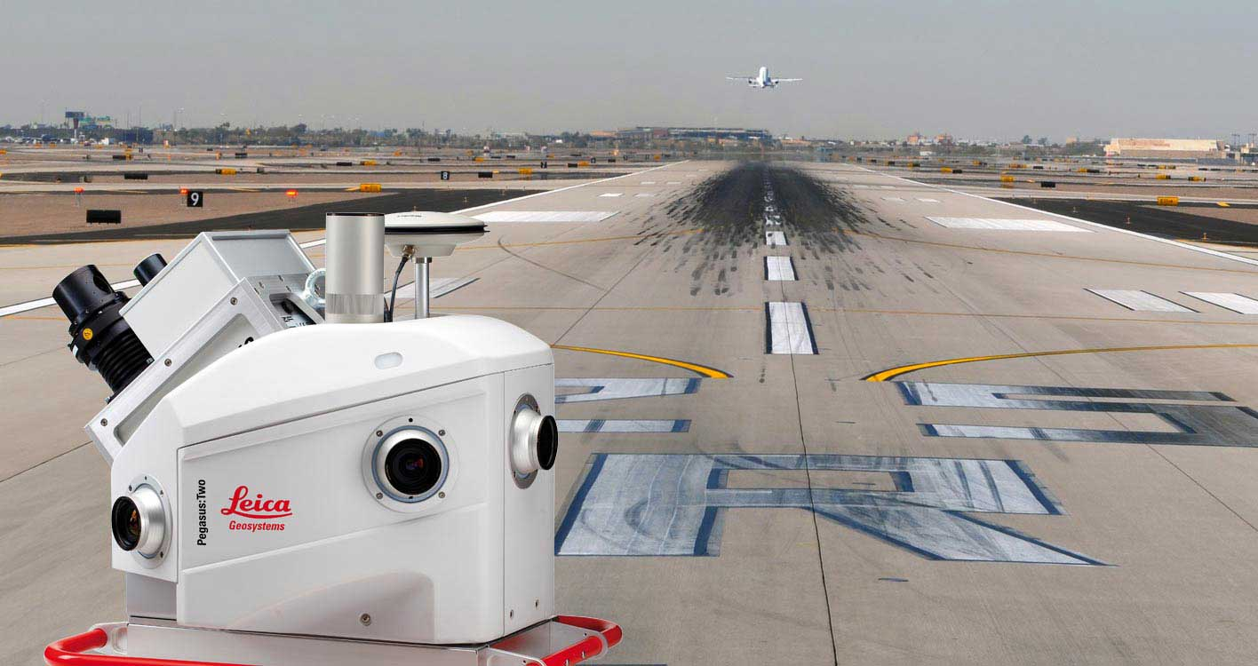 Solutions Transport Leica Geosystems - Aéroports - Cartographie d'infrastructures