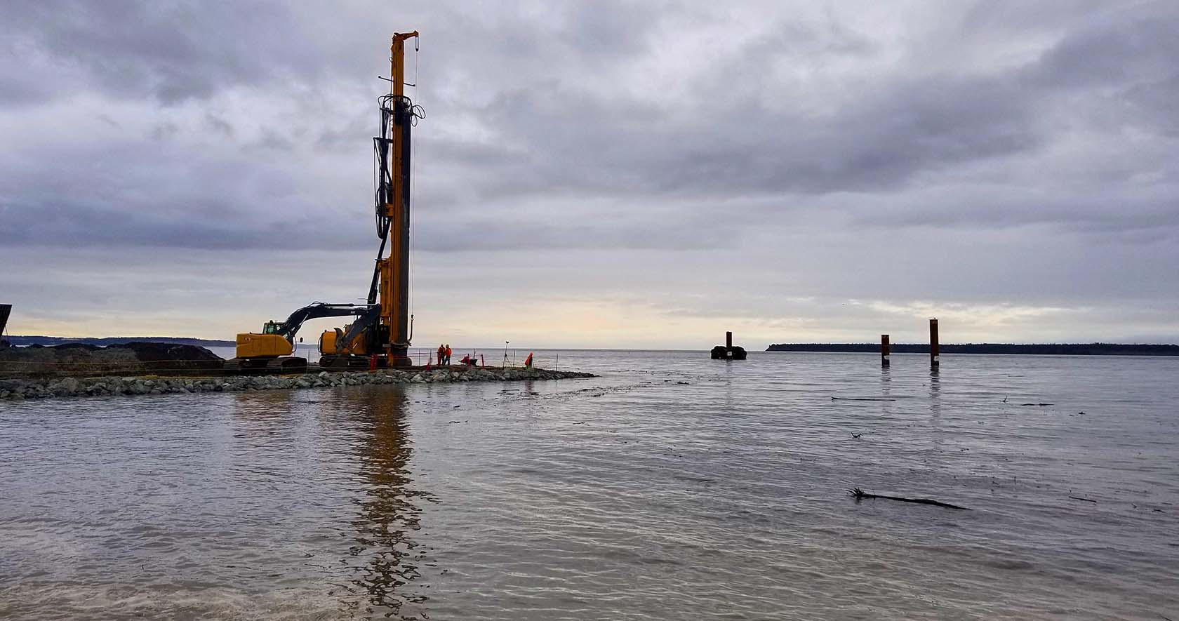Dams Drilling Piling Groundstabilisation