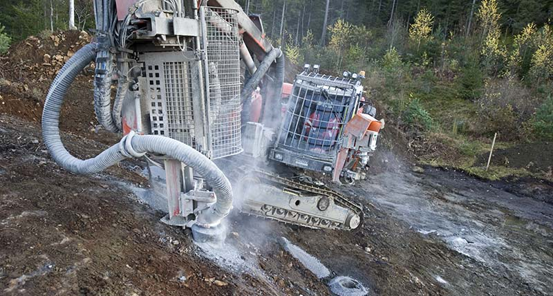 Highways Drilling Piling Groundstabilisation