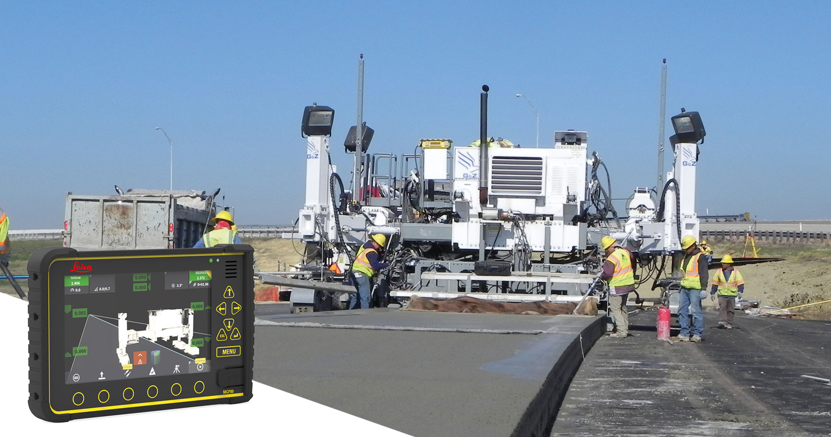 Highways Paving Finishing Compaction
