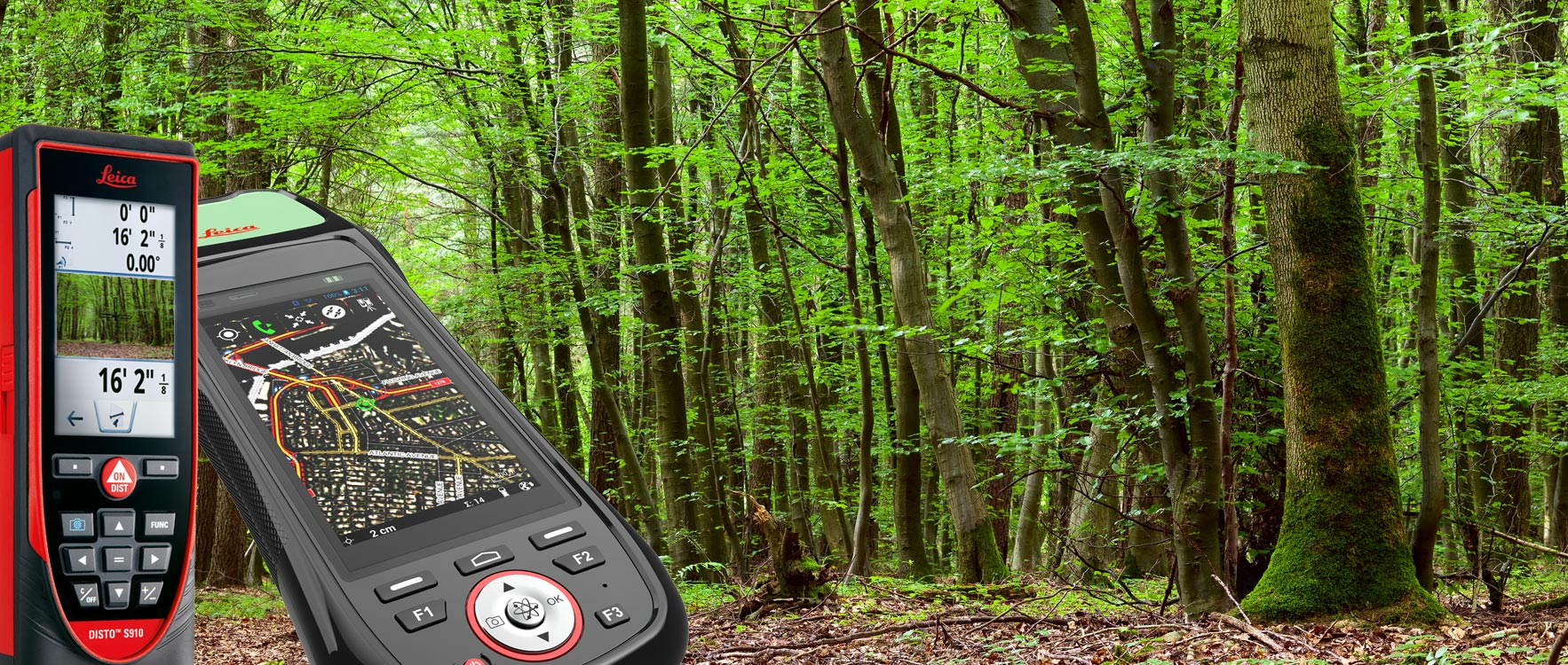 Leica Geosystems Forestry Solutions - Capture Natural Surface