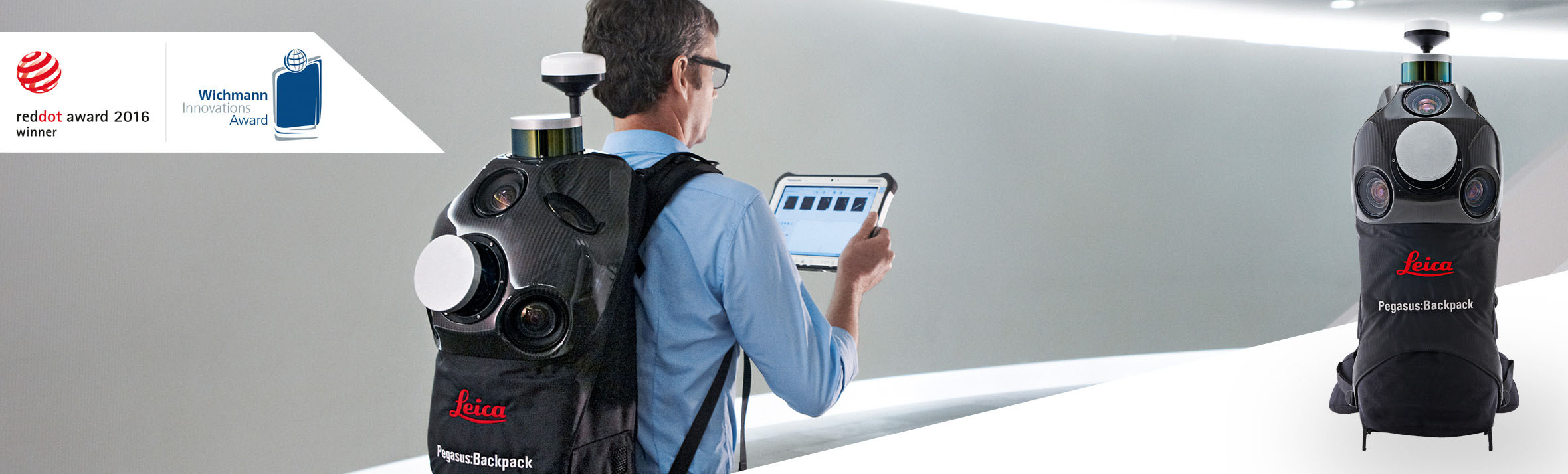 Leica Pegasus:Backpack Wearable Mobile Mapping Solution   Leica