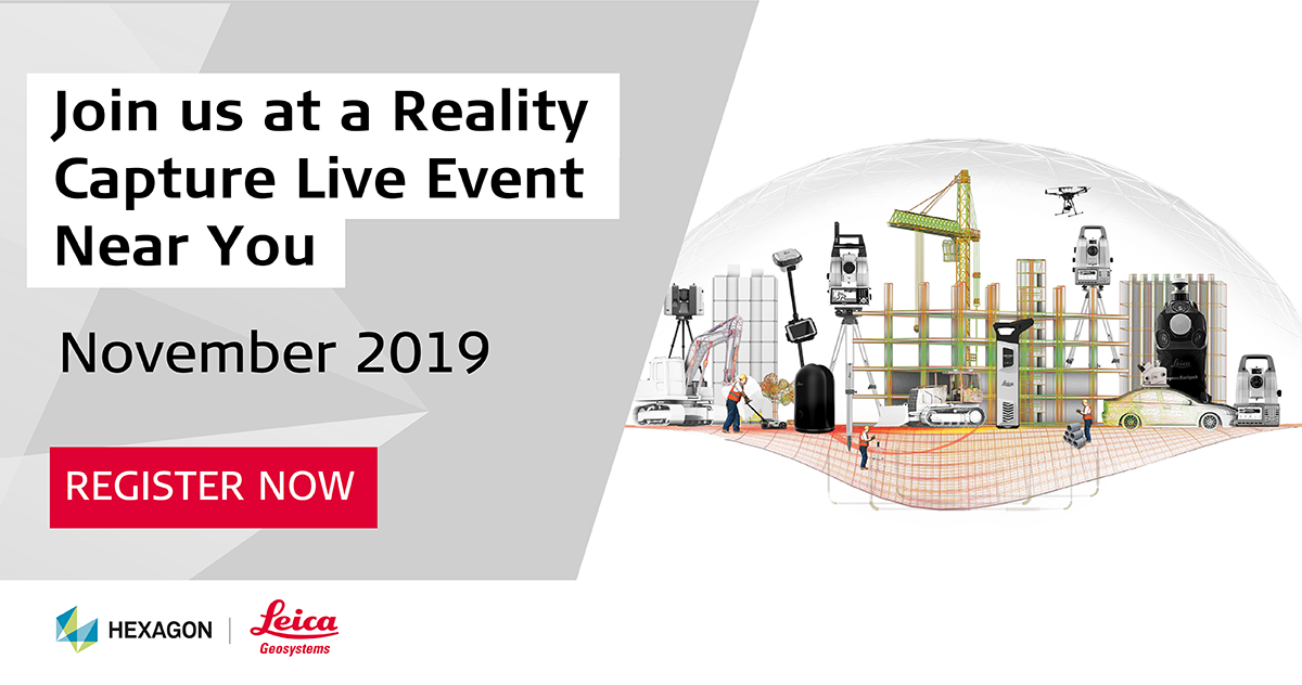 Reality Capture Live Events 2019