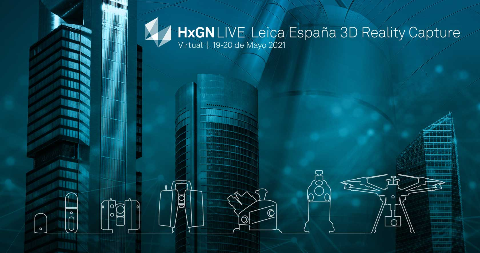 HxGN LIVE Leica Espana 3D Reality Capture