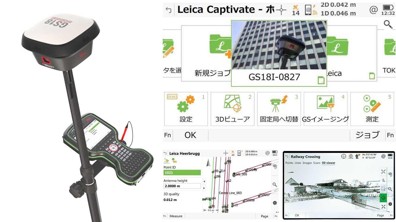 GNSS & Captivate