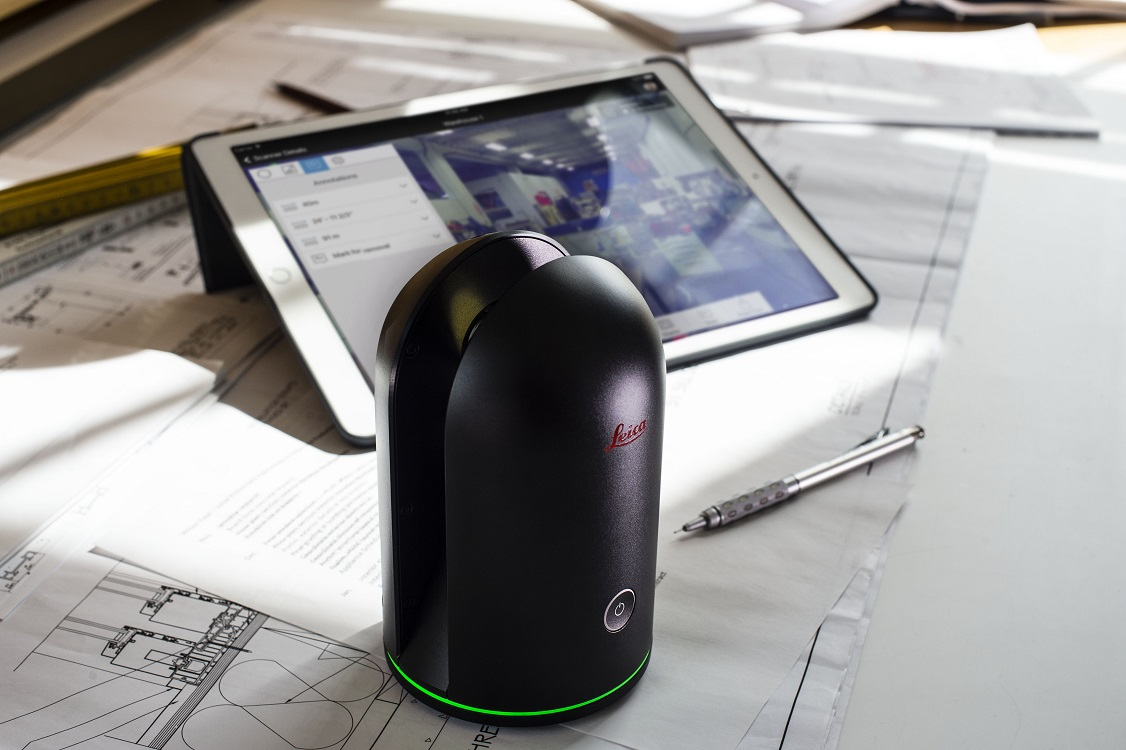 BLK360 with plan view