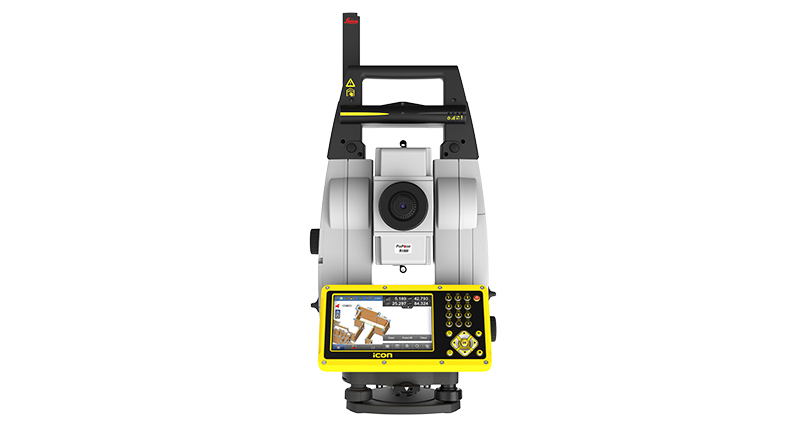 Leica iCON iCR80 Robotic Total Station | Leica Geosystems