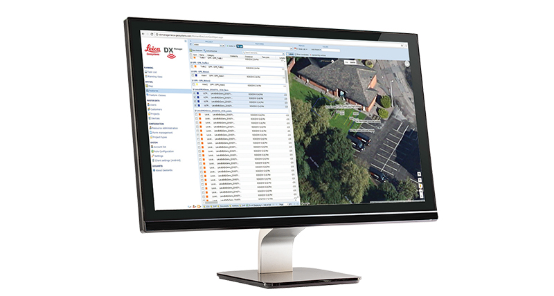 Leica DX Manager Utility Mapping Solution - Detection System