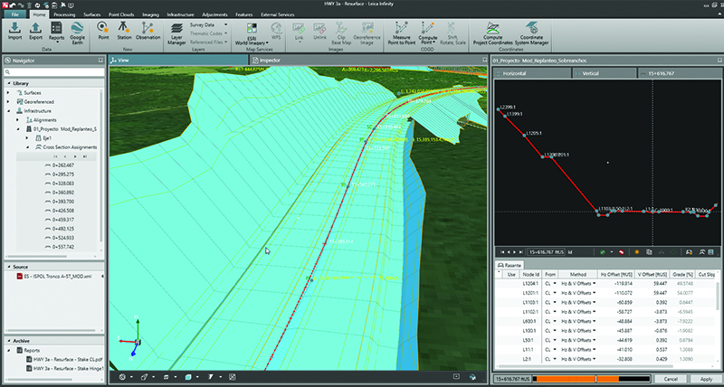 Leica Infinity Survey Software | Leica Geosystems