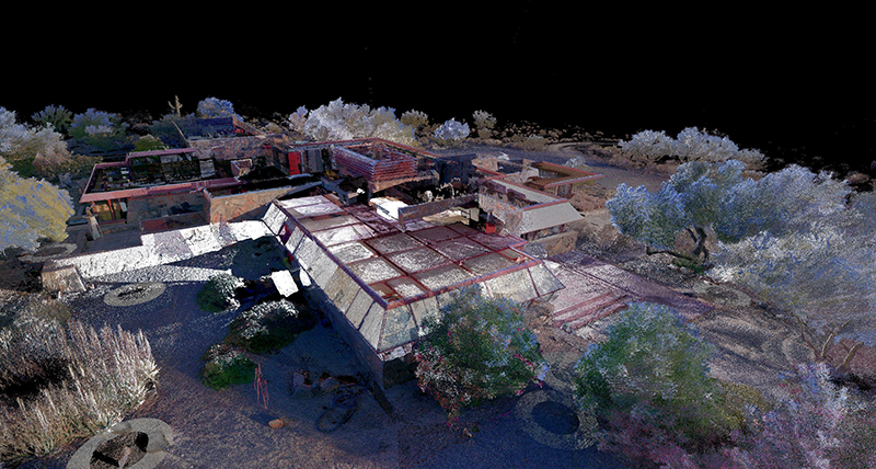 Digitalising Frank Lloyd Wright's desert laboratory