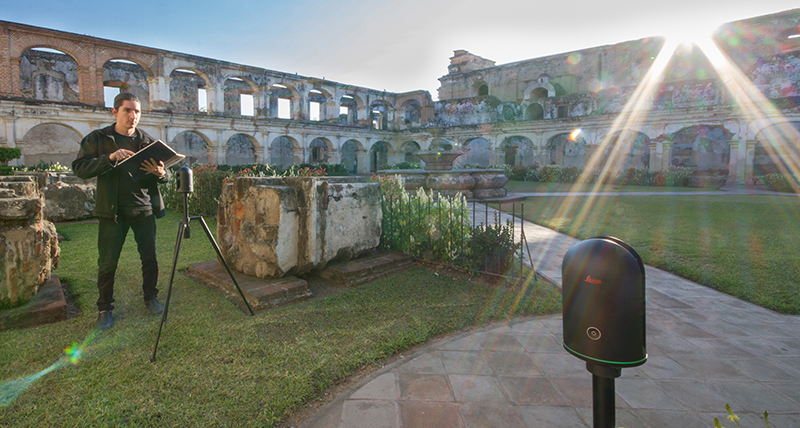 Merging AR, VR and the BLK360 in a ground-breaking cultural heritage project