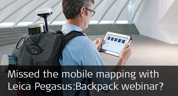 Leica Pegasus:Backpack Webinar