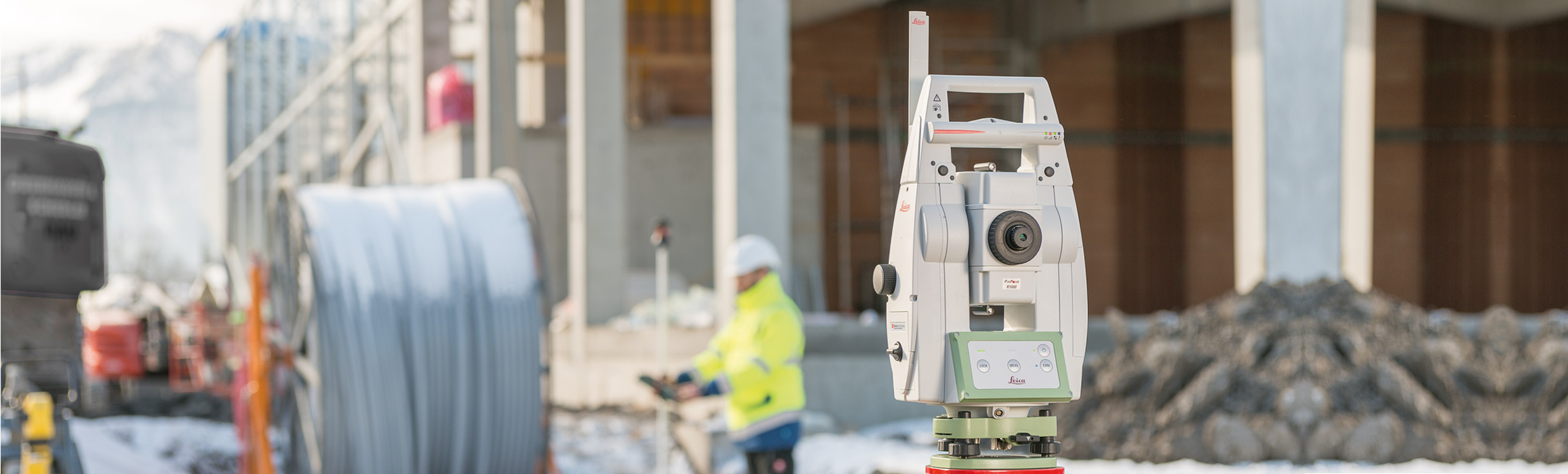 Leica TS13 Robotic Total Station
