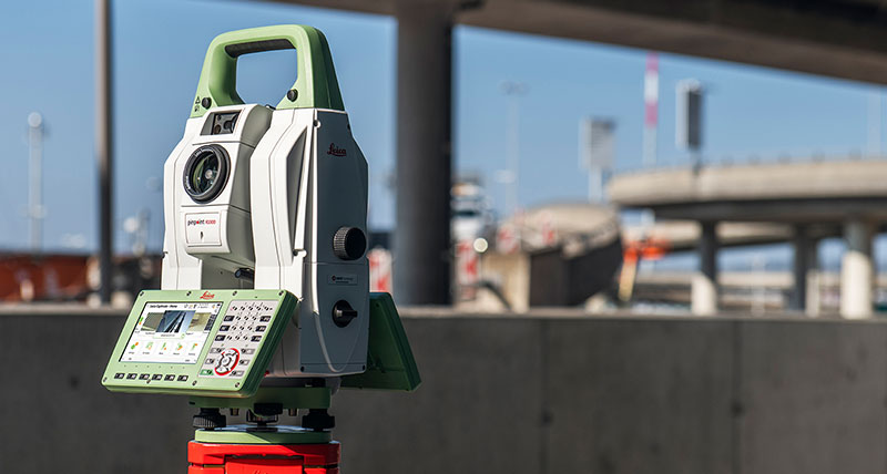 The new Leica Nova TS60, the world's most accurate total station