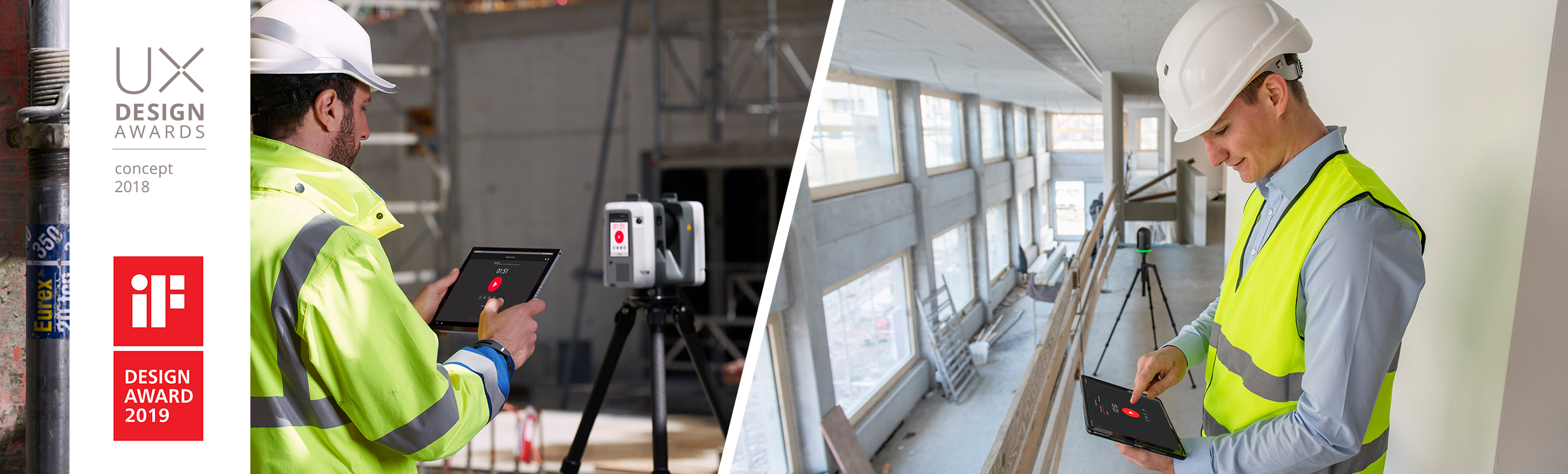 Cyclone FIELD 360 with UX  iF Design Award  Split Screen
