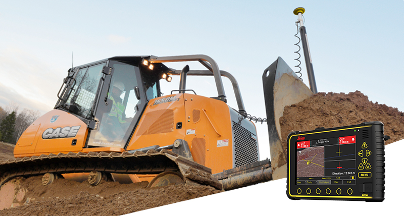 Leica Geosystems Machine control systems for dozers - Leica iCON iGD3