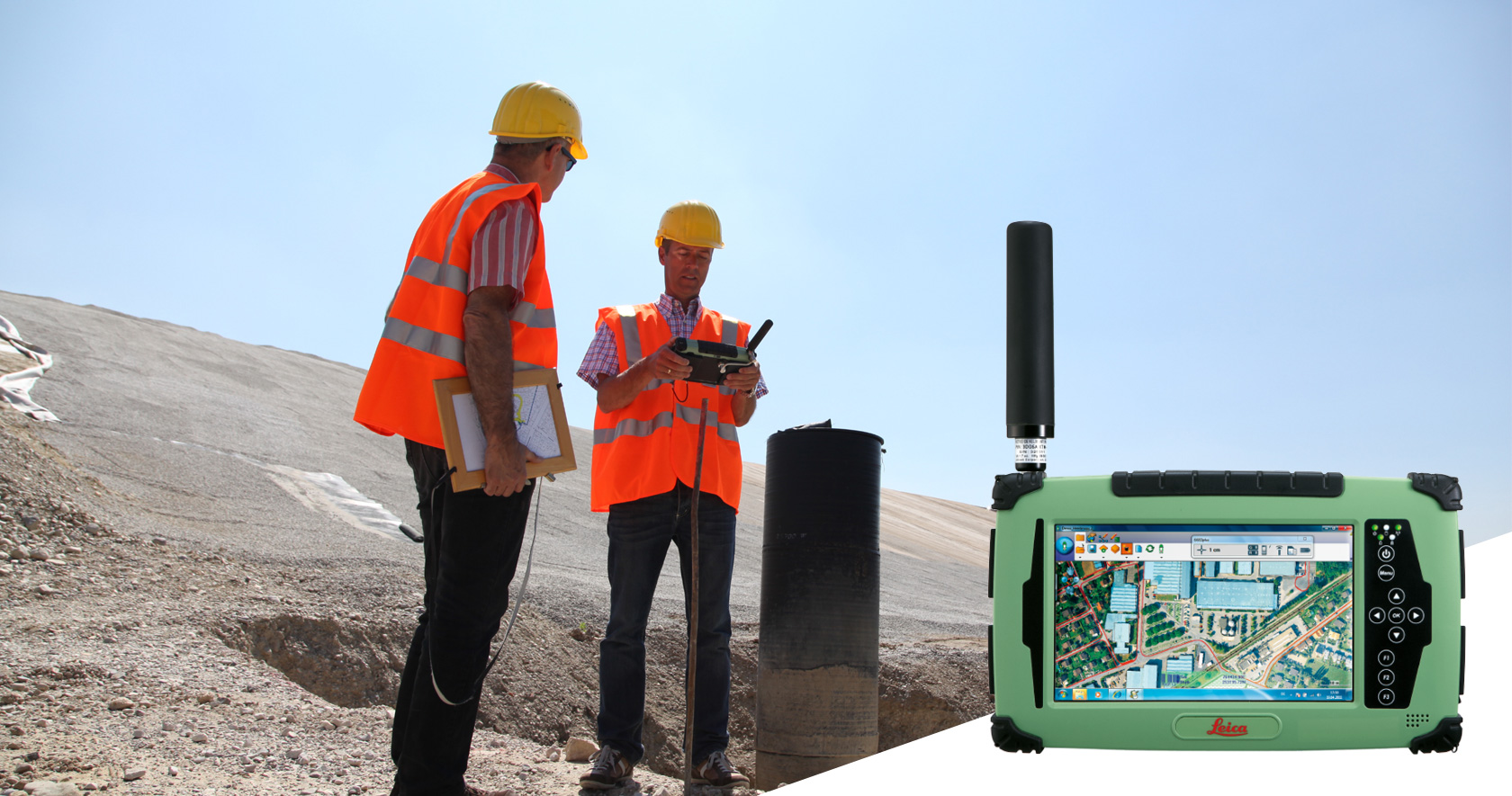 Leica Zeno CS25 GNSS plus
