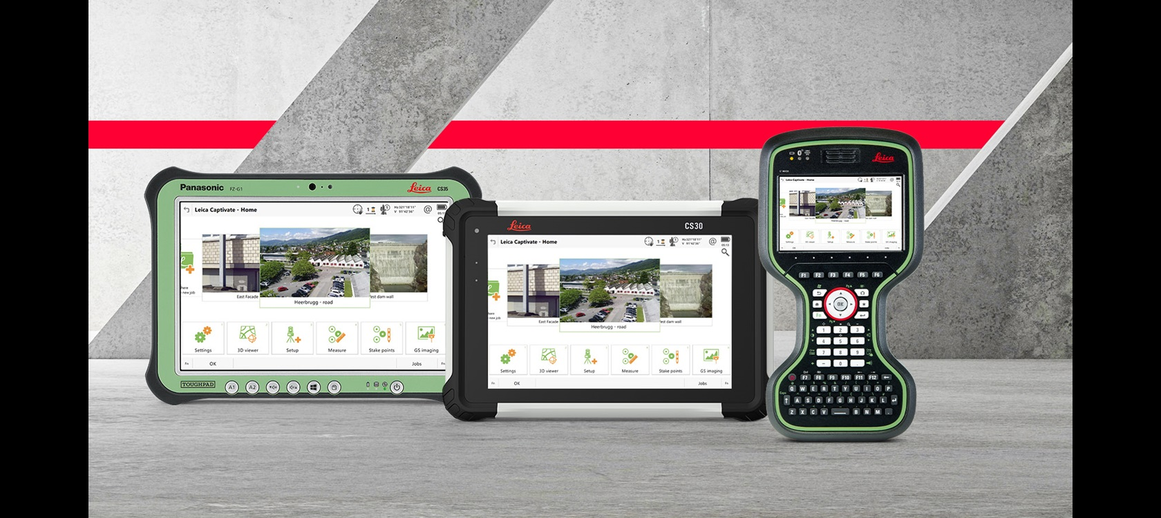 Leica Captivate CS20 & CS35 - Controller & Tablet