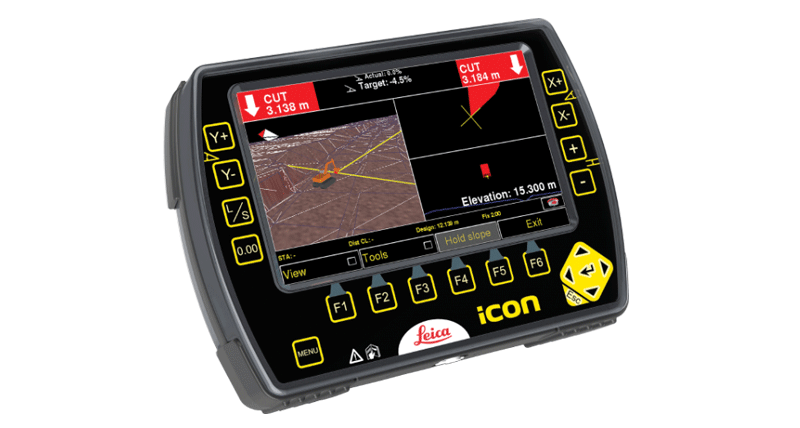 Leica iCON excavate iXE3