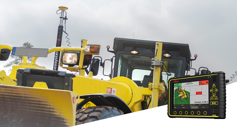 Leica Geosystems Machine control systems for graders - Leica iCON iGG4