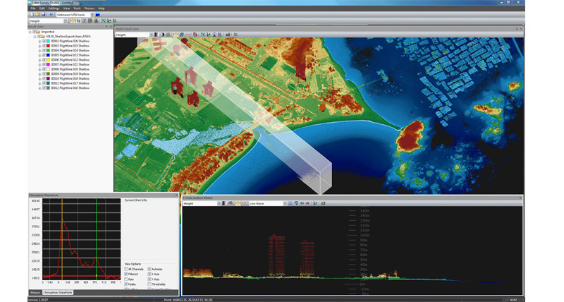 Software Leica LiDAR Survey Studio