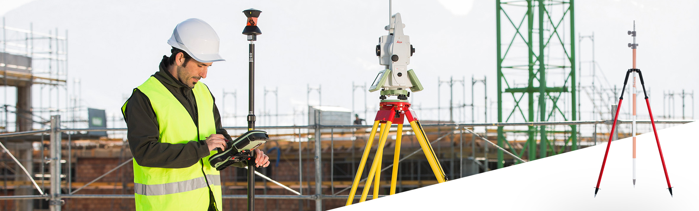 Leica Geosystems Accessories - Poles