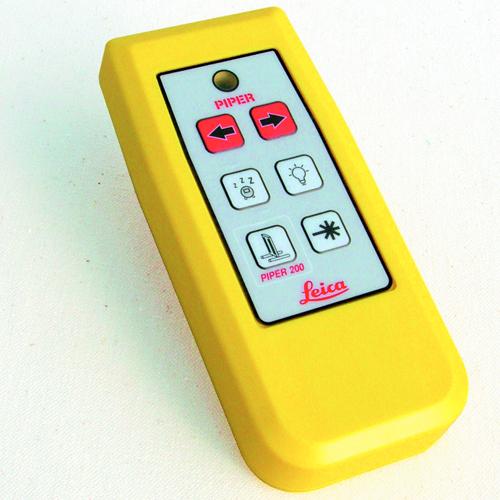 Leica Remote control piper pipe laser