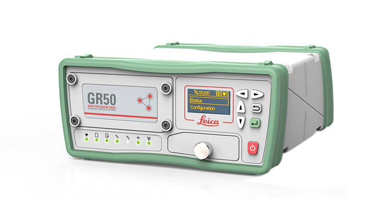 Leica GR50 & GR30 GNSS Reference Server