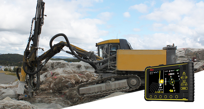 Leica Geosystems Machine control systems for drillers & pilers - Leica iCON iRD3/iRP3